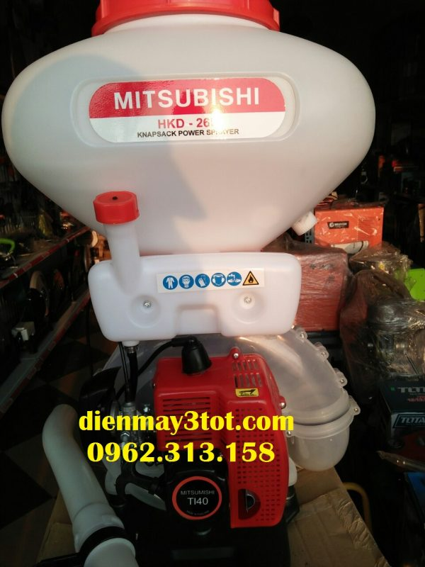 Bình xạ phân Mitsubishi T140 đa năng cho nhà nông 1