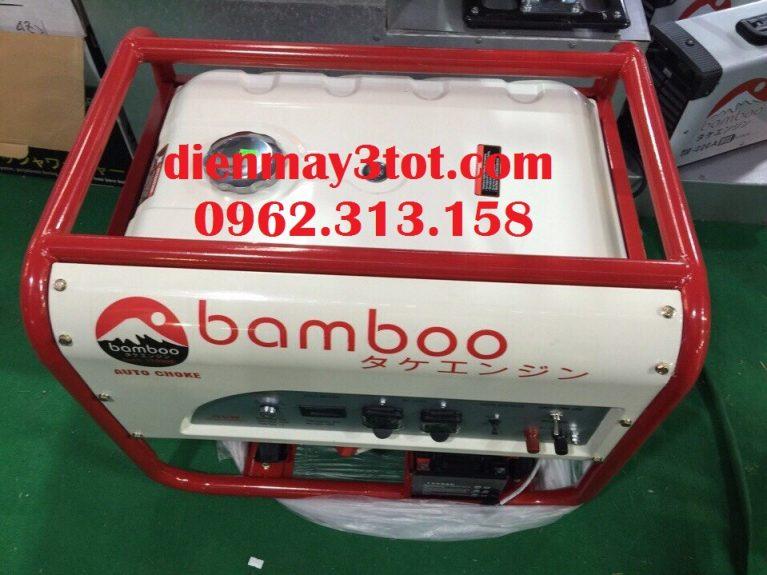 Máy phát điện Bamboo 4800E chạy xăng đề nổ (3,0-3,5kw) 4