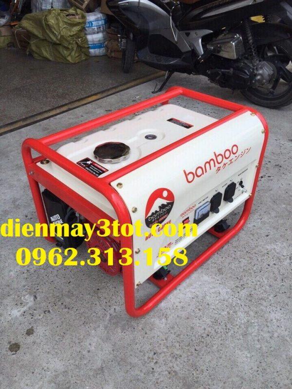 Máy phát điện Bamboo 4800E chạy xăng đề nổ (3,0-3,5kw) 3
