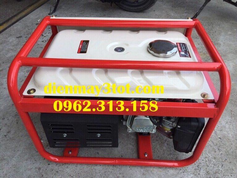 Máy phát điện Bamboo 4800E chạy xăng đề nổ (3,0-3,5kw) 6