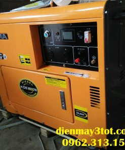 máy phát điện chạy dầu 5kw kama giá rẻ