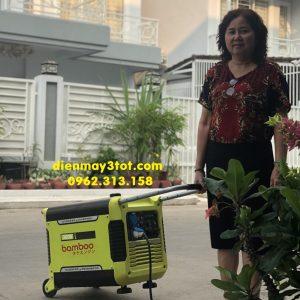 máy phát điện chạy xăng 3kw