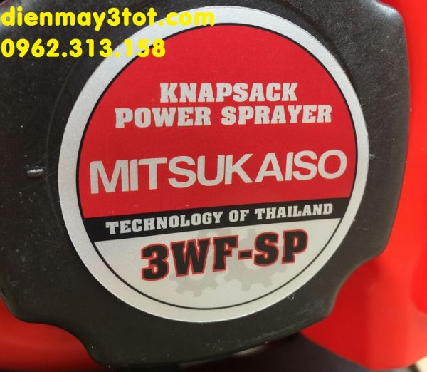 Máy phun vôi nước Mitsukaiso 3WF-SP đa năng phun khử trùng cho trang trại chăn nuôi 3