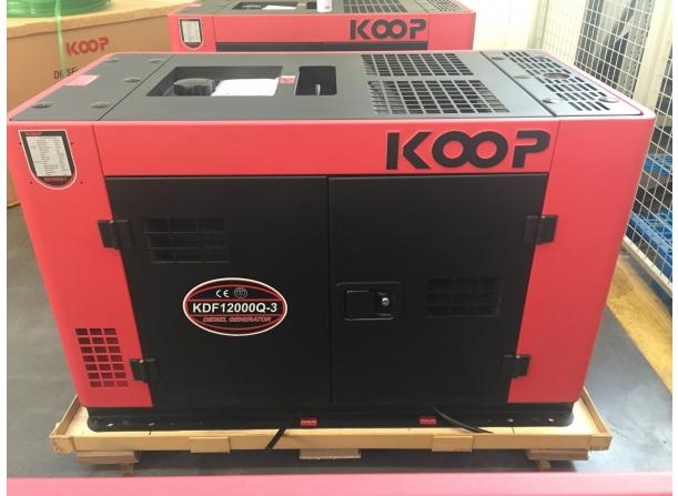 máy phát điện chạy dầu koop kdf12000