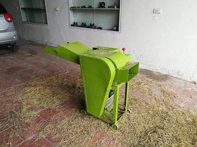 Máy băm rơm rạ làm nấm