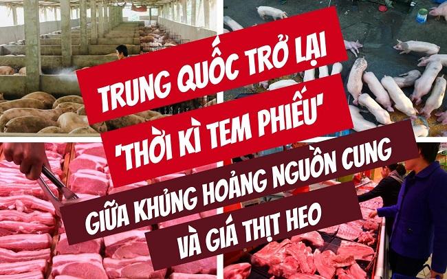 Trung Quốc thiếu thịt heo cho tiêu dùng