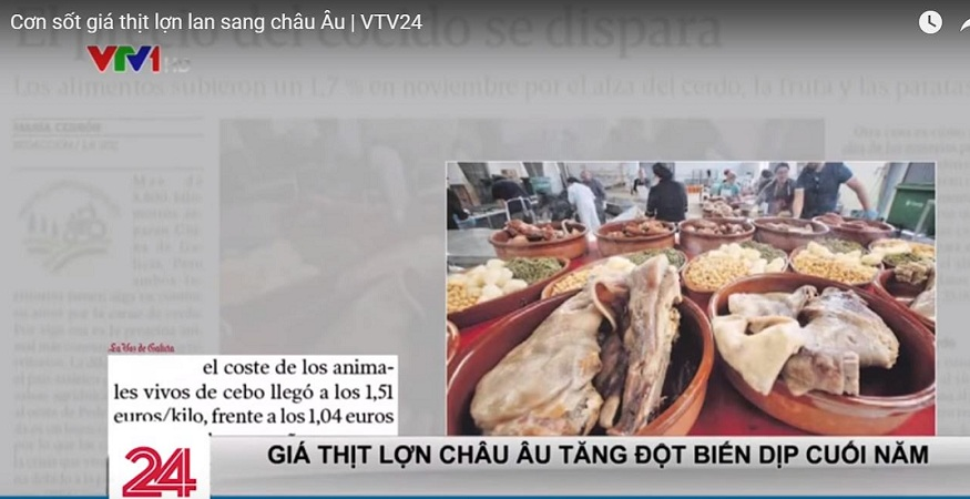 nhập khẩu thịt lợn tăng cao