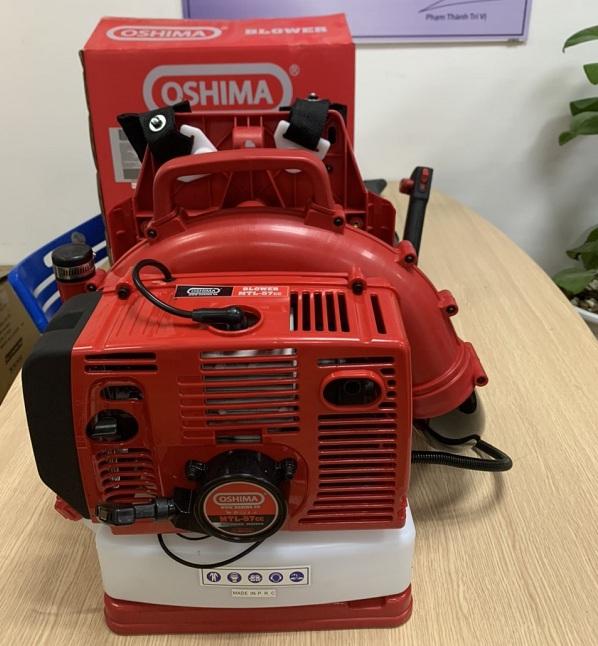 máy thổi lá cây oshima mtl57cc công suất 2,5kw