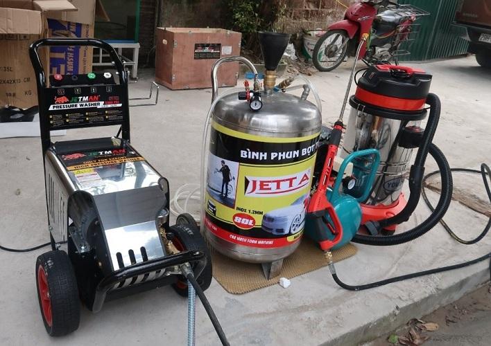 Máy rửa xe công nghiệp 2,2kw Jetman