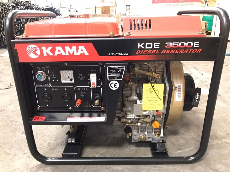 Máy phát điện mini 3kw hiệu Kama