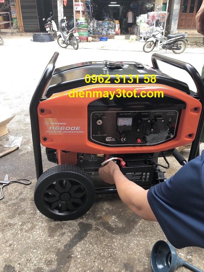 Máy phát điện 5kw chạy xăng cho gia đình