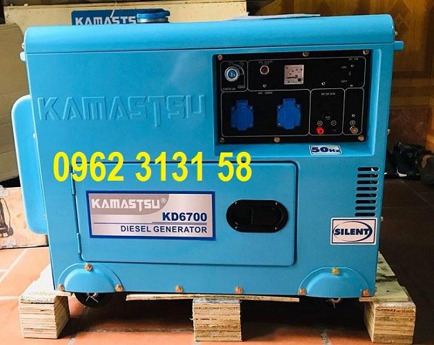 Máy phát điện chạy dầu 5kw cách âm cho gia đình